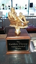 Fantasy Football Golden Throne Trophy