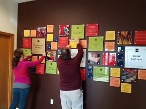 Food Pantry Donor Wall