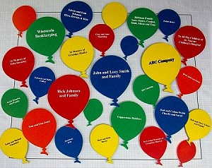 Easy Donor Deluxe Kit - Balloons