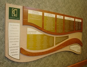 Foundation Donor Wall