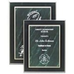 Marbled Acrylic Plaque -Green
