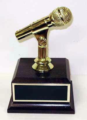 The Golden Microphone Trophy- Golden Mic Award