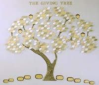 The Giving Tree- Donor Recognition Tree