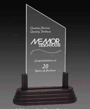 Peak Banner Acrylic Award