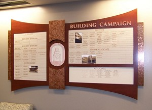 Building Campaign Donor Wall