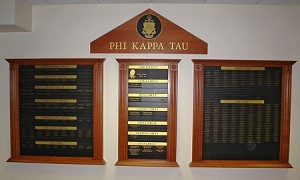 Fraternity Donor Recognition