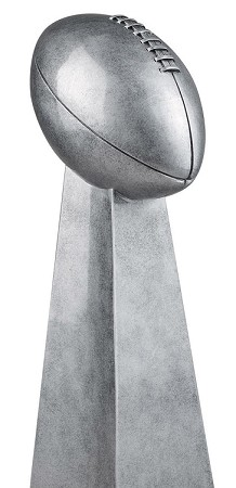 Silver Fantasy Football Tower
