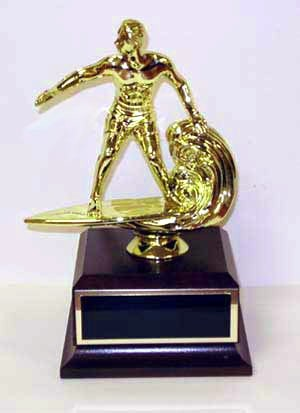 Web Surfing- Traveling Joke Trophy