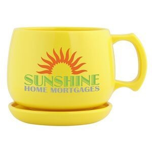 Biodegradable Eco-Friendly Corn Plastic Soup Mug and