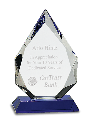 Blue Crystal Peak Award