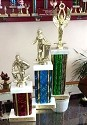 Recycled Trophies- Wide Columns- 3 Sizes