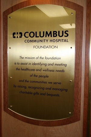 Hospital Foundation Donor Recognition