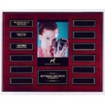 Mahogany Perpetual Photo Plaque 12 Plate