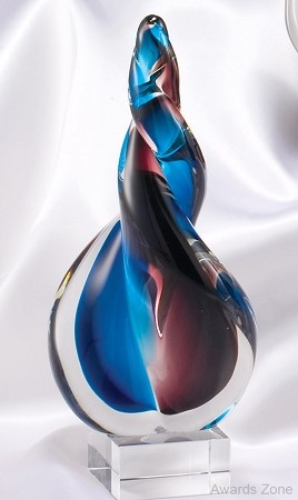 Twist of Fate Art Glass Award