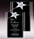 Silver Star Acrylic Wall Plaque