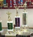 Recycled Trophies- Wide Column with Side Trim- 3 Sizes