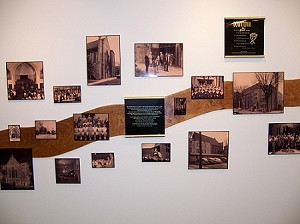 History Recognition Wall