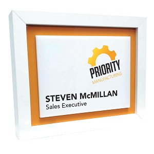 Full Color Desk Wall Name Sign
