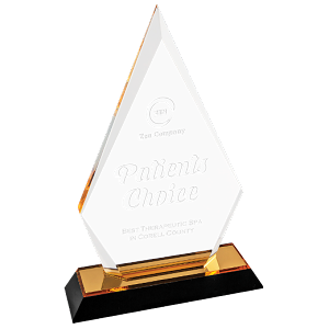 "Arrow Point Impress Acrylic Awards 8"" High"