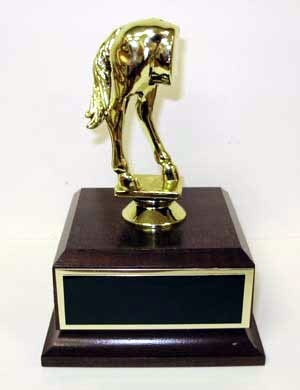 Jackass Award- Traveling Joke Trophy