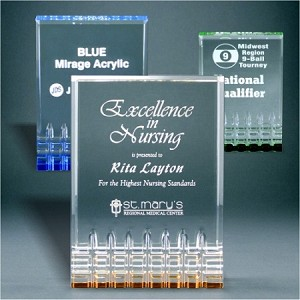 Mirage Acrylic Award
