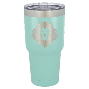 30 oz. Teal Stainless Steel Vacuum Insulated Tumbler