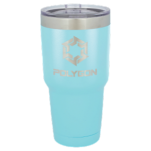 30 oz. Sky Blue Stainless Steel Vacuum Insulated Tumbler