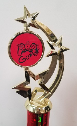 Color Squad Red Gamer Trophy