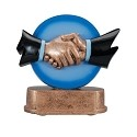 The Done Deal Handshake Trophy