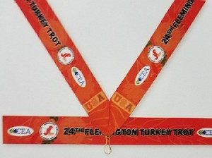 Full Color Sublimated Neck Ribbons 7/8""