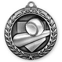 Baseball Medallion in 3D Design 2 3/4