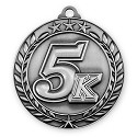 5K Race Medallion in 3D Design 2 3/4