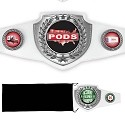 Championship Antique Silver Belt