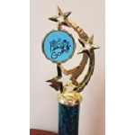 Color Squad Blue Gamer Trophy