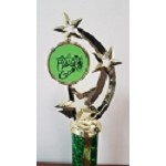 Color Squad Green Gamer Trophy