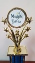 Muggle Trivia Magic Wand Trophy
