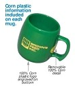 Eco-Friendly Corn Plastic Mug