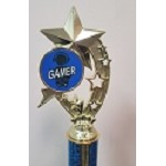 Shooting Stars Gaming Trophies- Blue/Black
