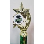 Shooting Stars Gaming Trophies- Green/White