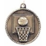 Basketball High Relief Medal 2