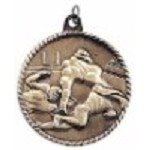 Football High Relief Medal 2