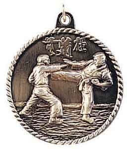 Karate High Relief Medals 2""