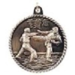 Karate High Relief Medals 2