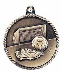 Soccer High Relief Medals 2""