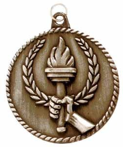 Torch Victory High Relief Medals 2""