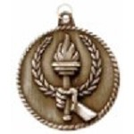 Torch Victory High Relief Medals 2