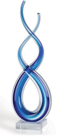 Touched By Blue Art Glass Award