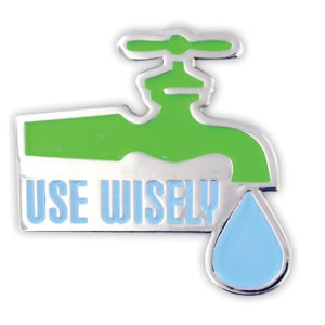 Use Water Wisely Pins